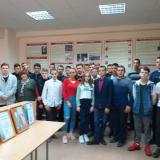 Группа А-11 с классным руководителем Валентиной Михайловной Захарчевой.