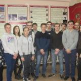 Учащиеся группы ДС-11 с классным руководителем М.А. Халиуллиной.