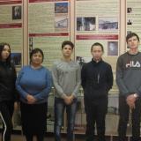 Учащиеся группы МП-11 с преподавателем Г.В. Федотовой.
