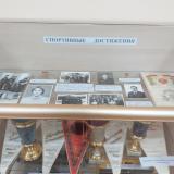 Экспонаты, отражающие спортивные достижения техникума в 1970-1980 годах.