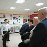 Выпускники 1977 года - слева направо Г.И. Халиуллов, Г.В. Черникова, Н.С. Володин, Е.В. Капкаев.