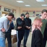 Экскурсовод музея Настя Мелёхина рассмешила группу М-21.