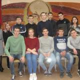 Группа М-21 с классным руководителем И.В. Низамовой в музее