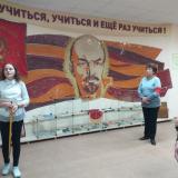Для группы М-41 экскурсию ведет Алина Кузьмина.