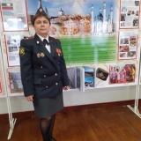 Афонина Елена Владимировна И41 старший инспектор по ДН майор полиции