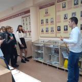 Выступление Руслана Киямова перед учениками школы № 57.