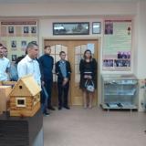 Ирина Шепелева начинает экскурсию для гр. МП-11