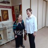 Юбилей всем нам в радость - слева бывший преподаватель колледжа Т.В. Неверова с преподавателем, выпускницей 1987 года И.Е. Машковой.