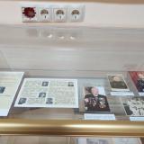 Экспозиция, посвященная преподавателям - участникам Великой Отечественной войны.