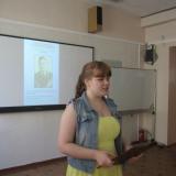 Выступление Тамары Агафоновой.