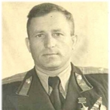 Герой Советского Союза М.С. Паничкин.