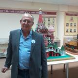В.Ю. Финогентов - один из авторов  макета храма Василия Блаженного.