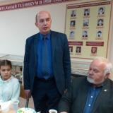 Выступает и.о. директора Департамента профессионального образования  Т.А. Хайрутдинов.