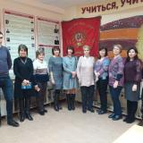 Участники совещания, проводимого Департаментом профессионального образования Минобрнауки Ульяновской области.