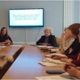 Ю.К. Володина ведет областной семинар музейных работников.